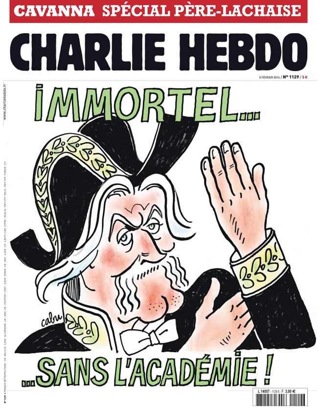 Charlie Hebdo - n°1129 - 5 février 2014
