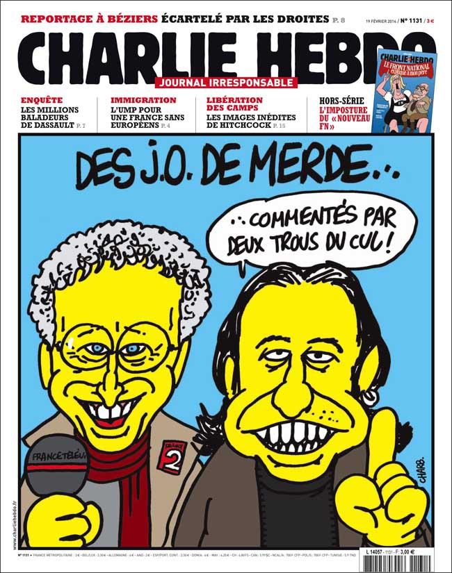 Charlie Hebdo - n°1131 - 19 février 2014