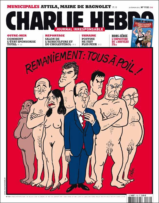 Charlie Hebdo - n°1132 - 24 février 2014