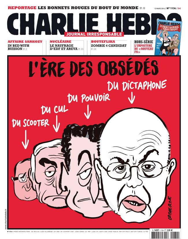 Charlie Hebdo - n°1134 - 12 mars 2014