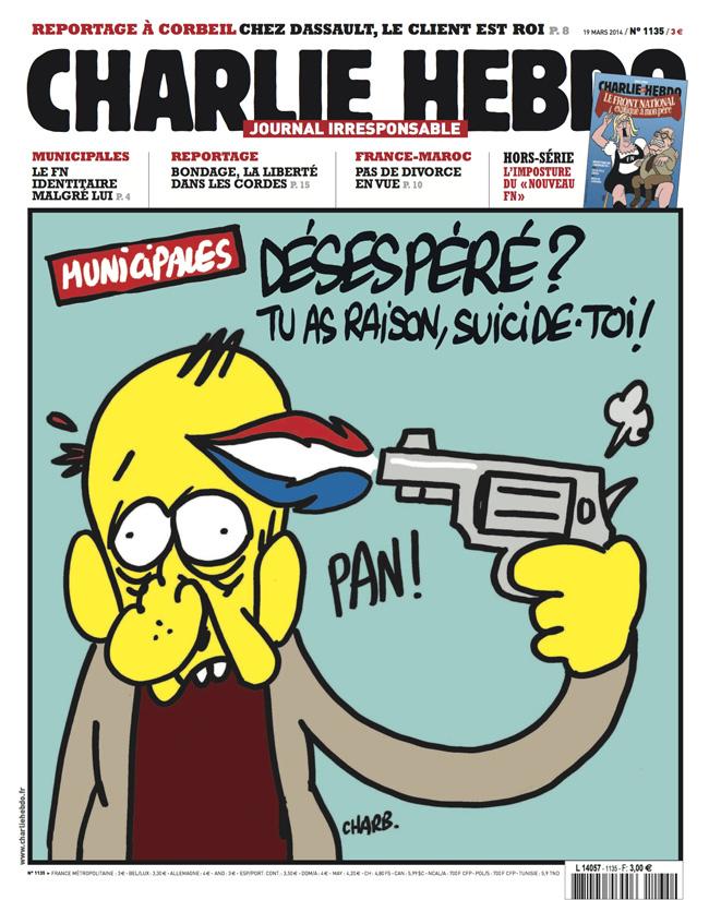 Charlie Hebdo - n°1135 - 19 mars 2014