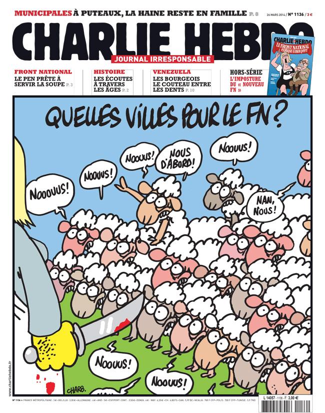 Charlie Hebdo - n°1136 - 26 mars 2014