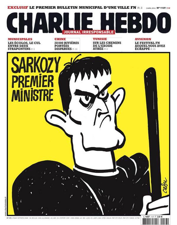 Charlie Hebdo - n°1137 - 2 avril 2014