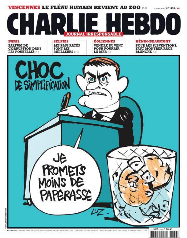 Charlie Hebdo - n°1139 - 16 avril 2014