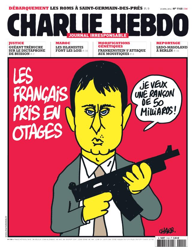 Charlie Hebdo - n°1140 - 23 avril 2014