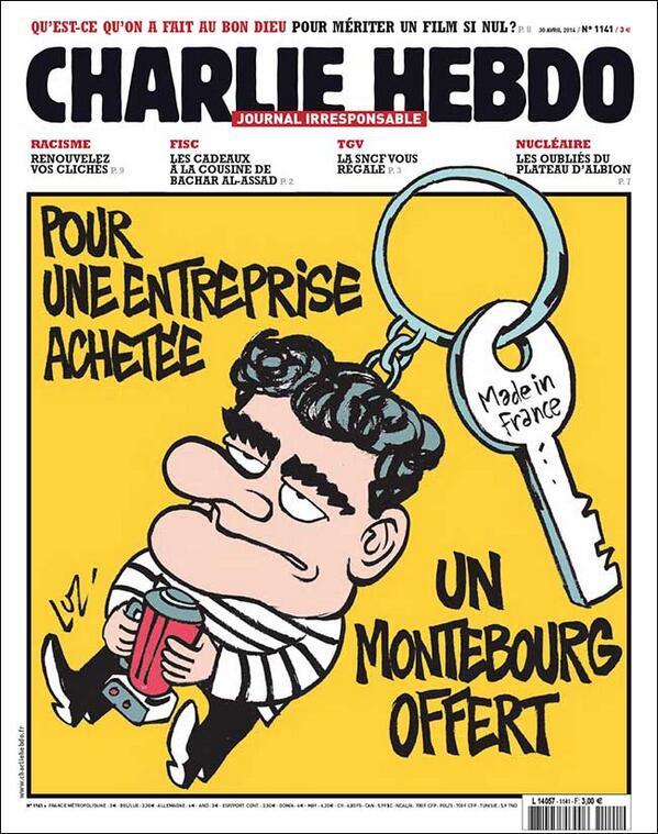 Charlie Hebdo - n°1141 - 30 avril 2014
