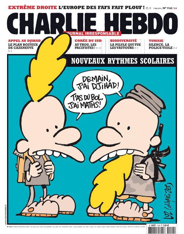 Charlie Hebdo - n°1142 - 7 mai 2014
