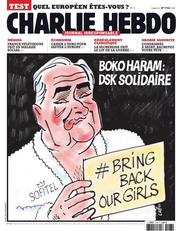 Charlie Hebdo - n°1143 - 14 mai 2014