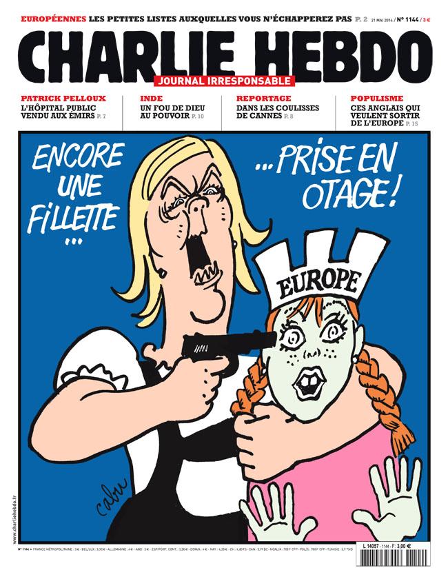 Charlie Hebdo - n°1144 - 21 mai 2014