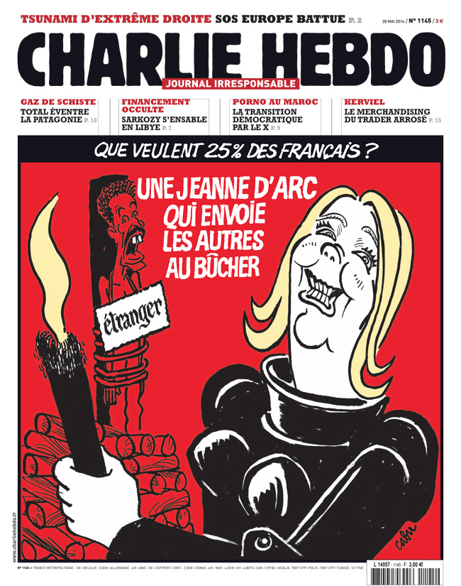 Charlie Hebdo - n°1145 - 28 mai 2014