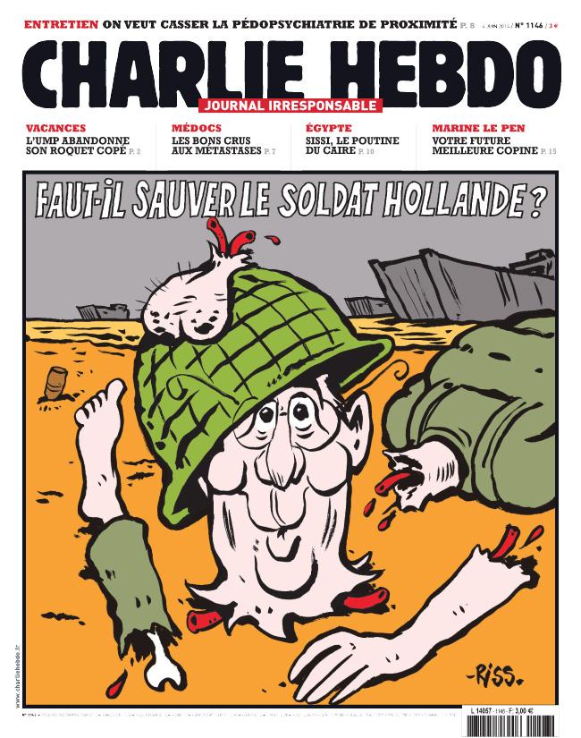 Charlie Hebdo - n°1146 - 4 juin 2014
