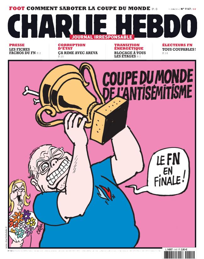 Charlie Hebdo - n°1147 - 11 juin 2014
