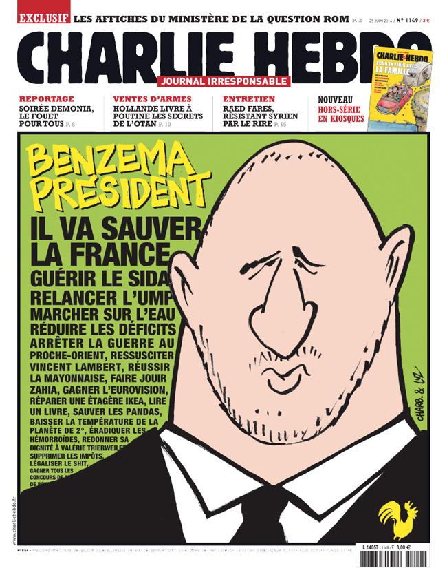 Charlie Hebdo - n°1149 - 25 juin 2014