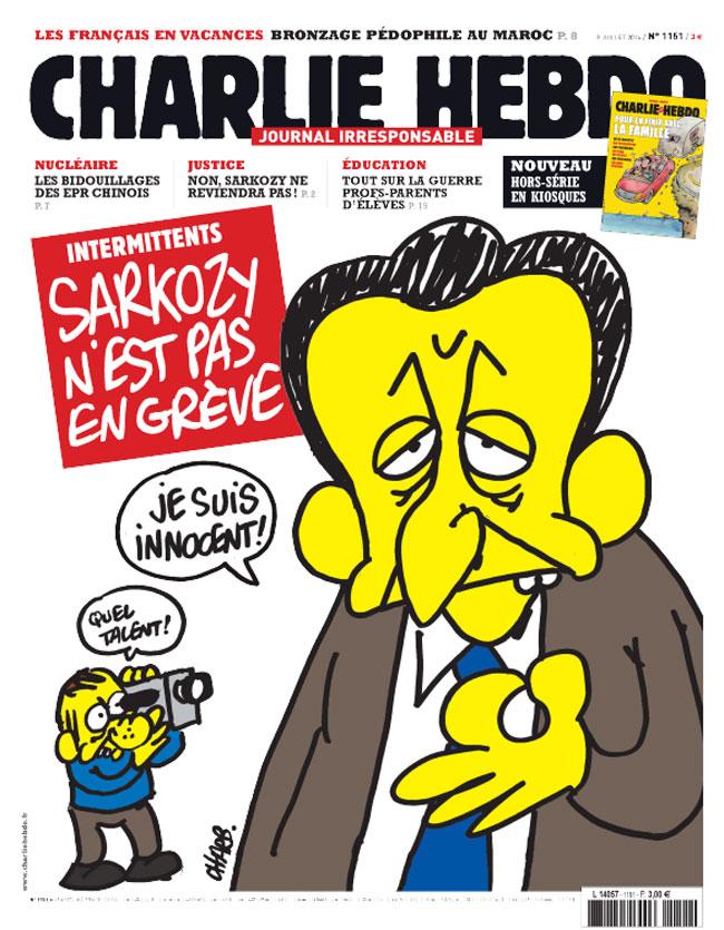 Charlie Hebdo - n°1151 - 9 juillet 2014