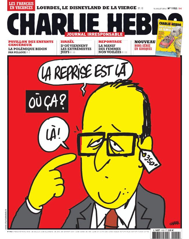 Charlie Hebdo - n°1152 - 16 juillet 2014
