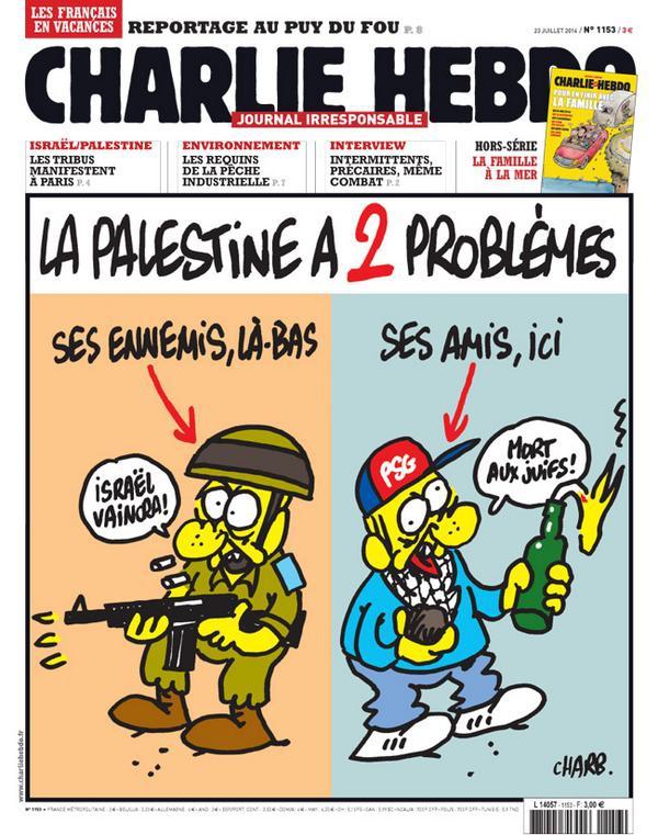 Charlie Hebdo - n°1153 - 23 juillet 2014