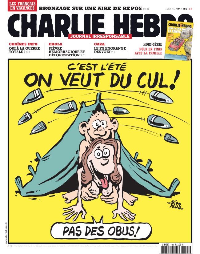 Charlie Hebdo - n°1155 - 4 août 2014