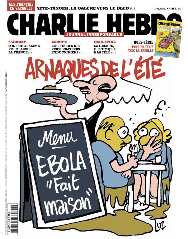 Charlie Hebdo - n°1156 - 13 août 2014