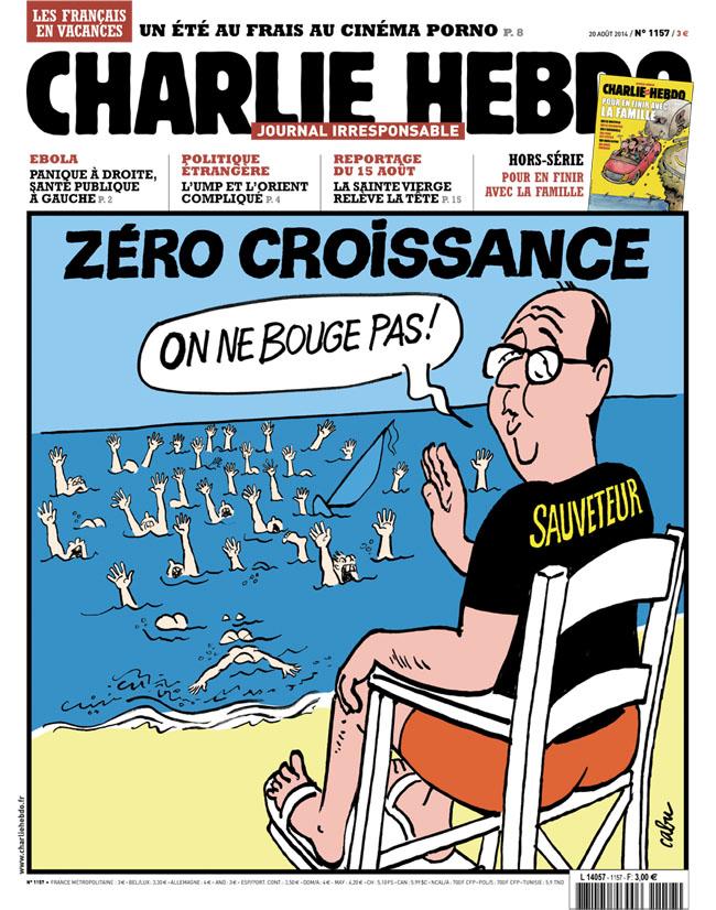 Charlie Hebdo - n°1157 - 20 août 2014