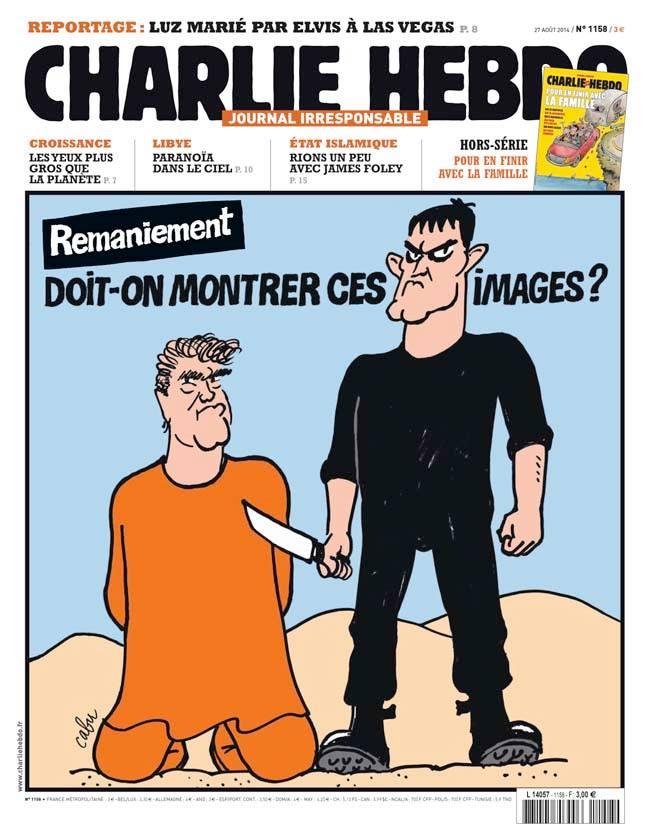 Charlie Hebdo - n°1158 - 27 août 2014
