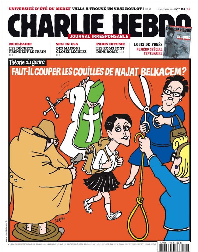 Charlie Hebdo - n°1159 - 3 septembre 2014