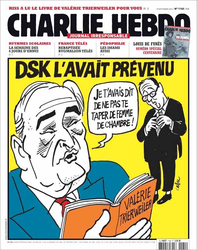 Charlie Hebdo - n°1160 - 10 septembre 2014
