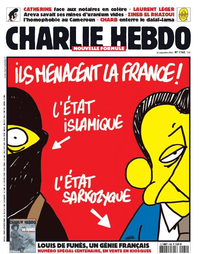 Charlie Hebdo - n°1162 - 24 septembre 2014