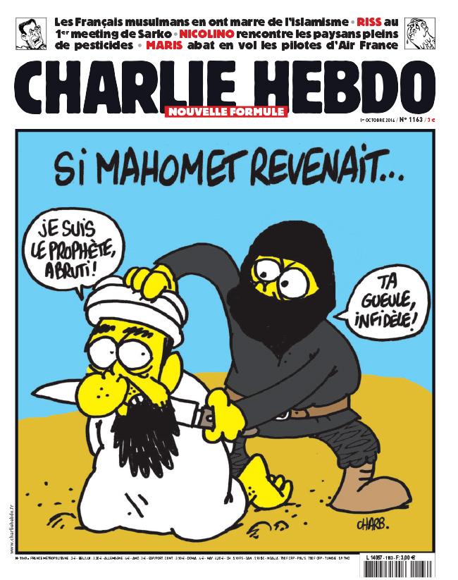 Charlie Hebdo - n°1163 - 1 octobre 2014