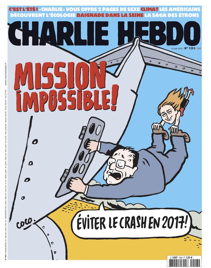Charlie Hebdo n°1203 --- 12 août 2015