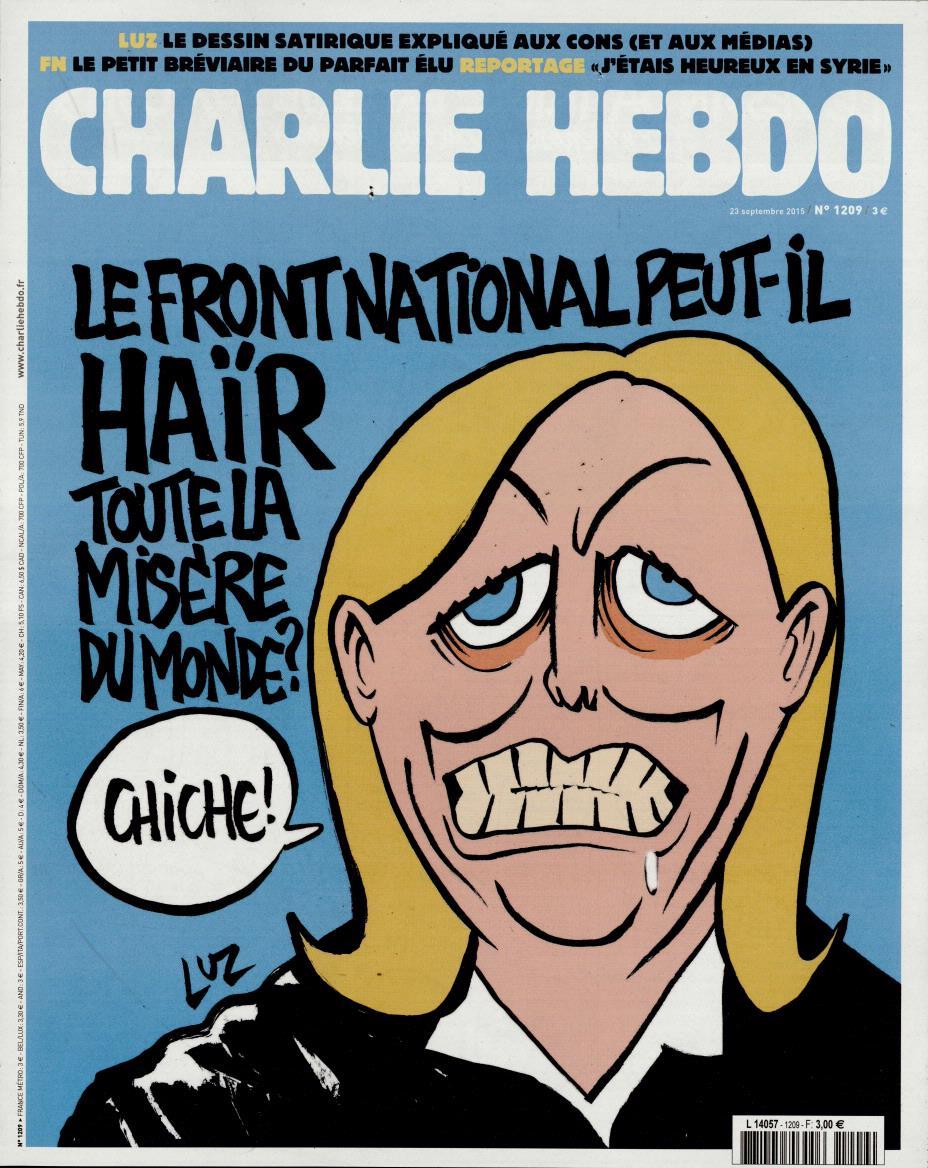 Charlie Hebdo n°1209 --- 23 septembre 2015