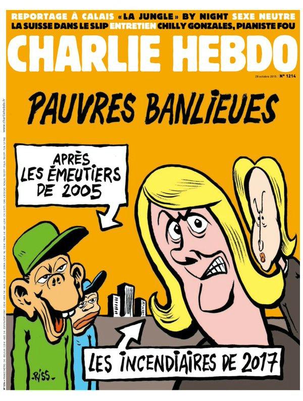 Charlie Hebdo n°1214 --- 28 octobre 2015