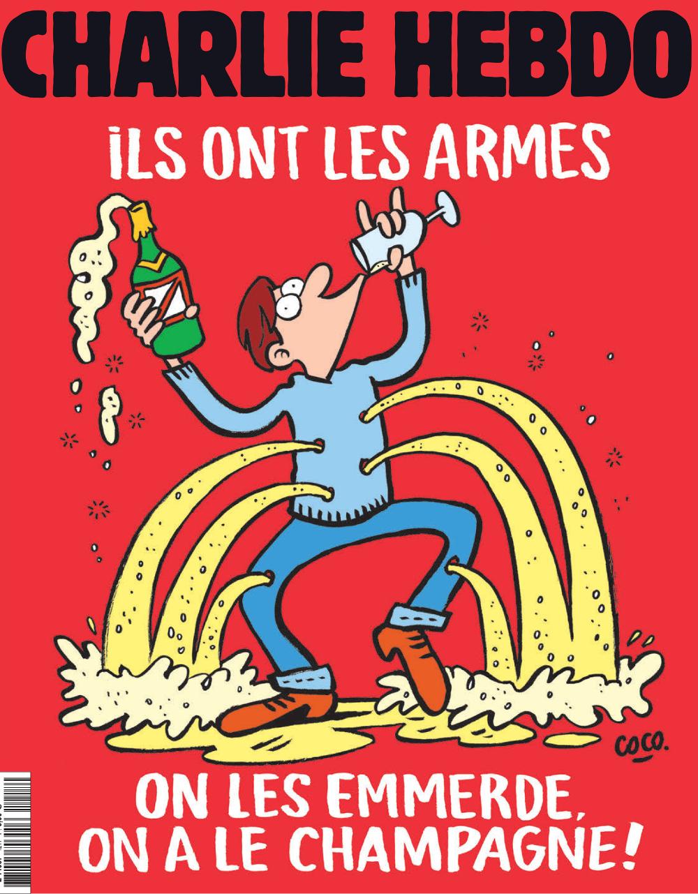 Charlie Hebdo n°1216 --- 18 novembre 2015