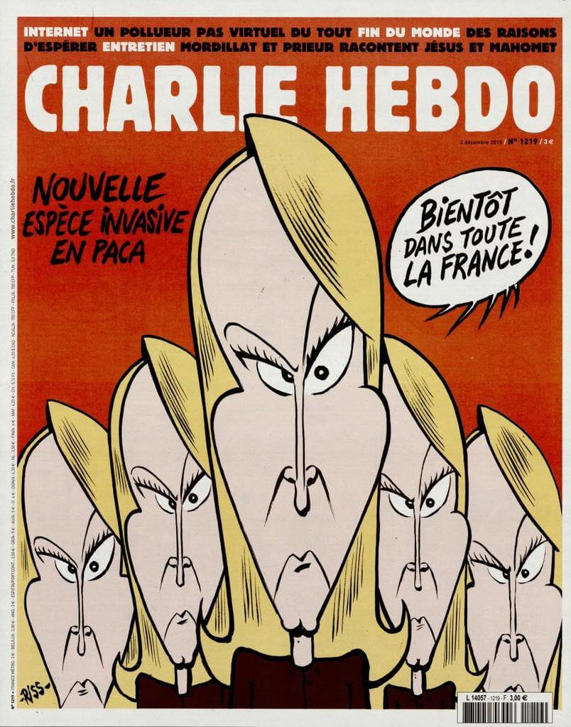 Charlie Hebdo n°1219 --- 2 décembre 2015