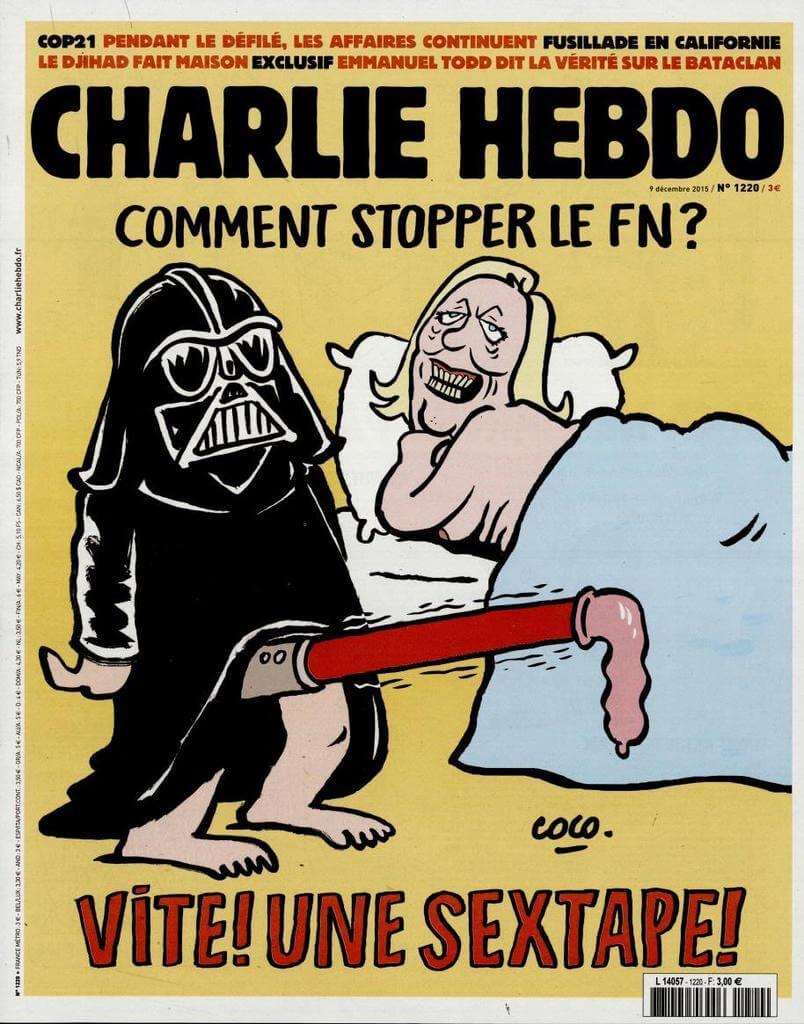 Charlie Hebdo n°1220 --- 9 décembre 2015