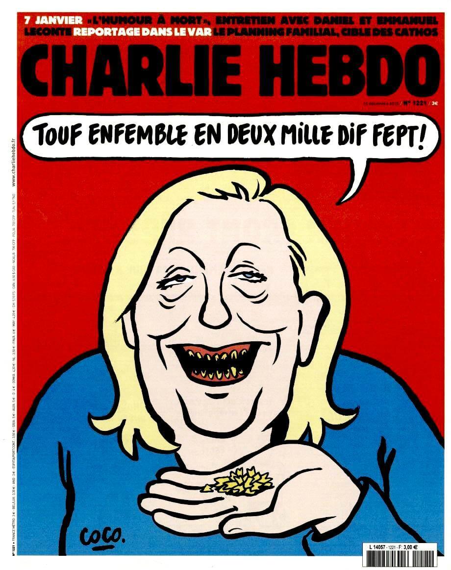 Charlie Hebdo n°1221 --- 16 décembre 2015