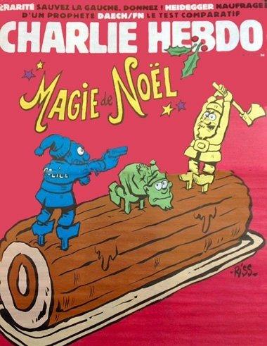 Charlie Hebdo n°1222 --- 23 décembre 2015