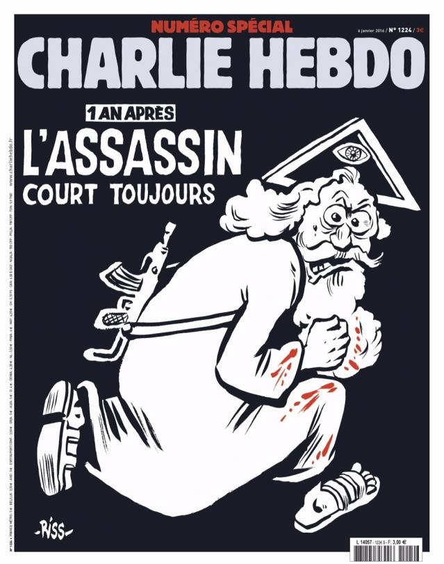 Charlie Hebdo n°1224 --- 6 janvier 2016