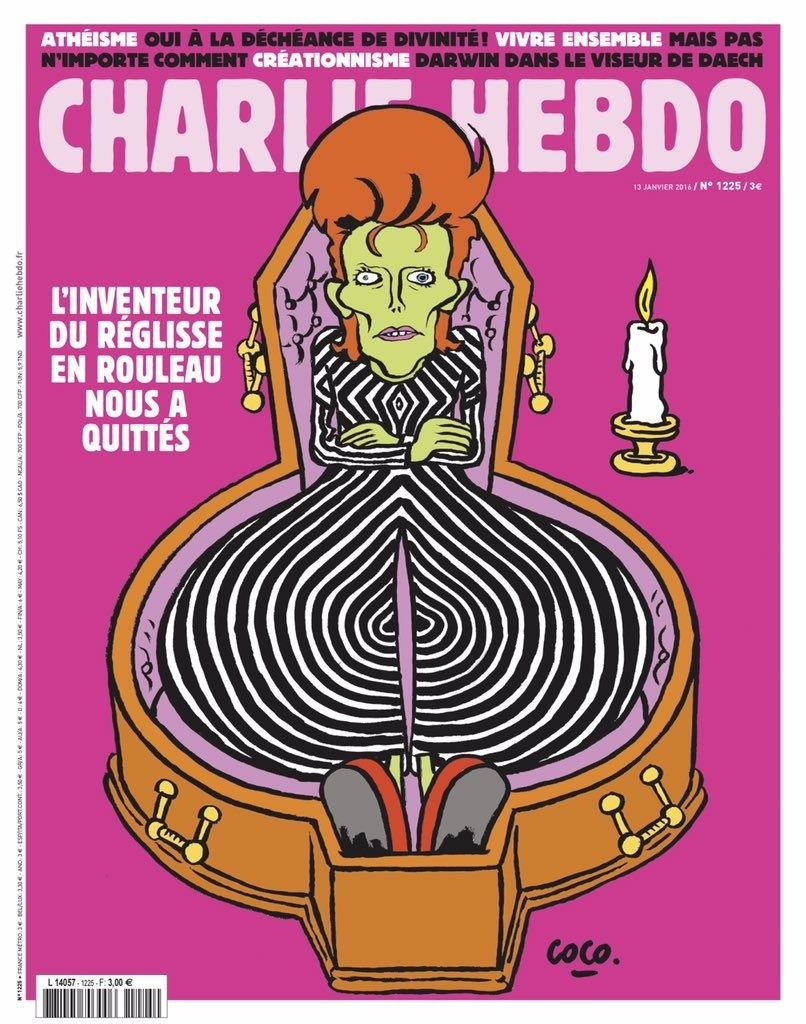 Charlie Hebdo n°1225 --- 13 janvier 2016