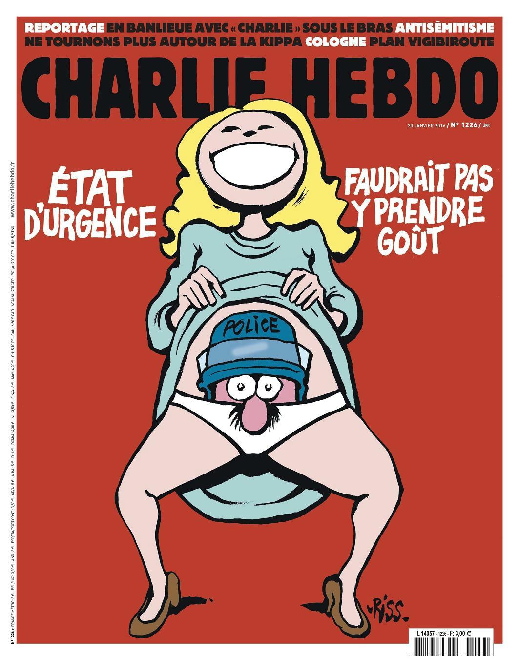 Charlie Hebdo n°1226 --- 20 janvier 2016