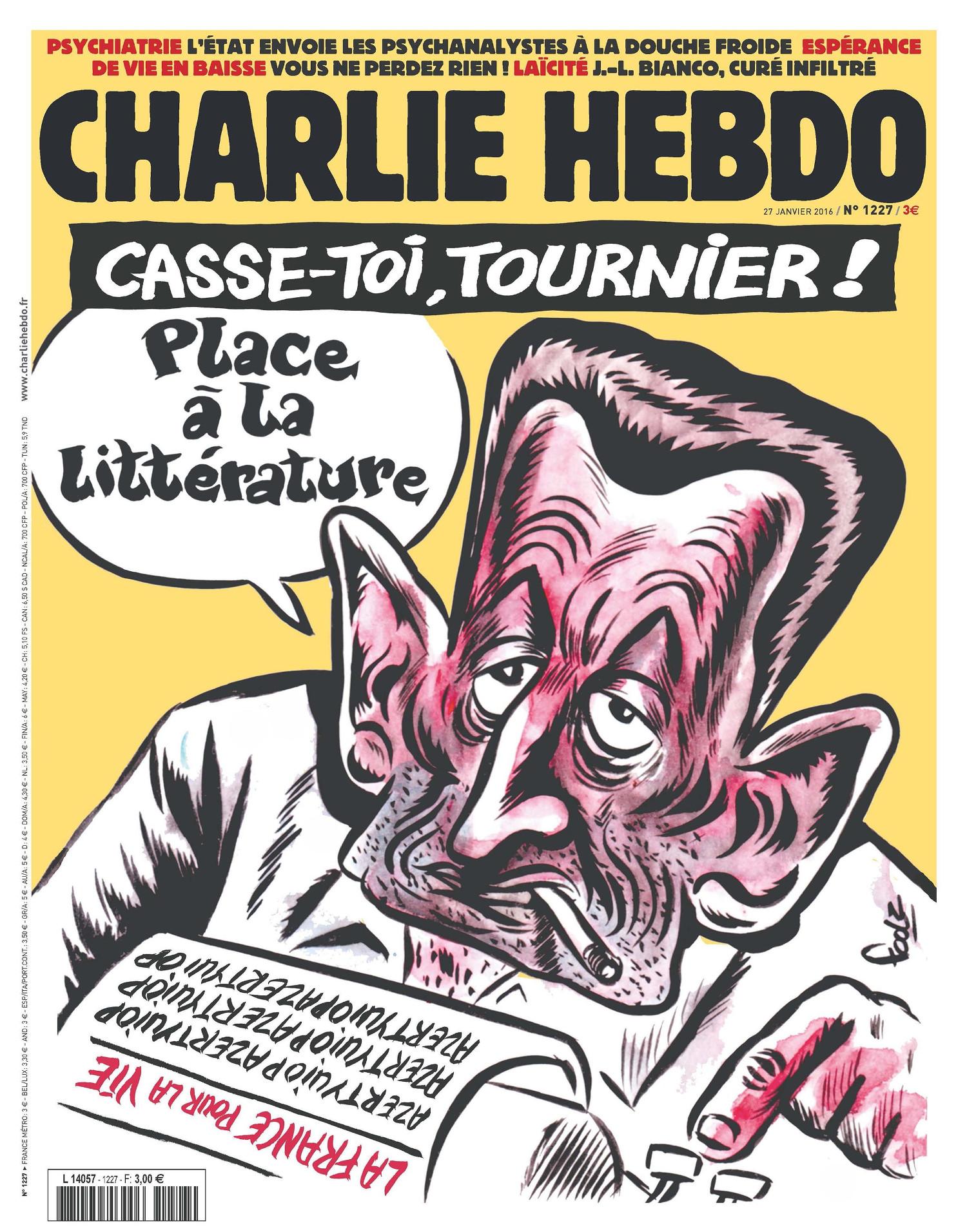 Charlie Hebdo n°1227 --- 27 janvier 2016