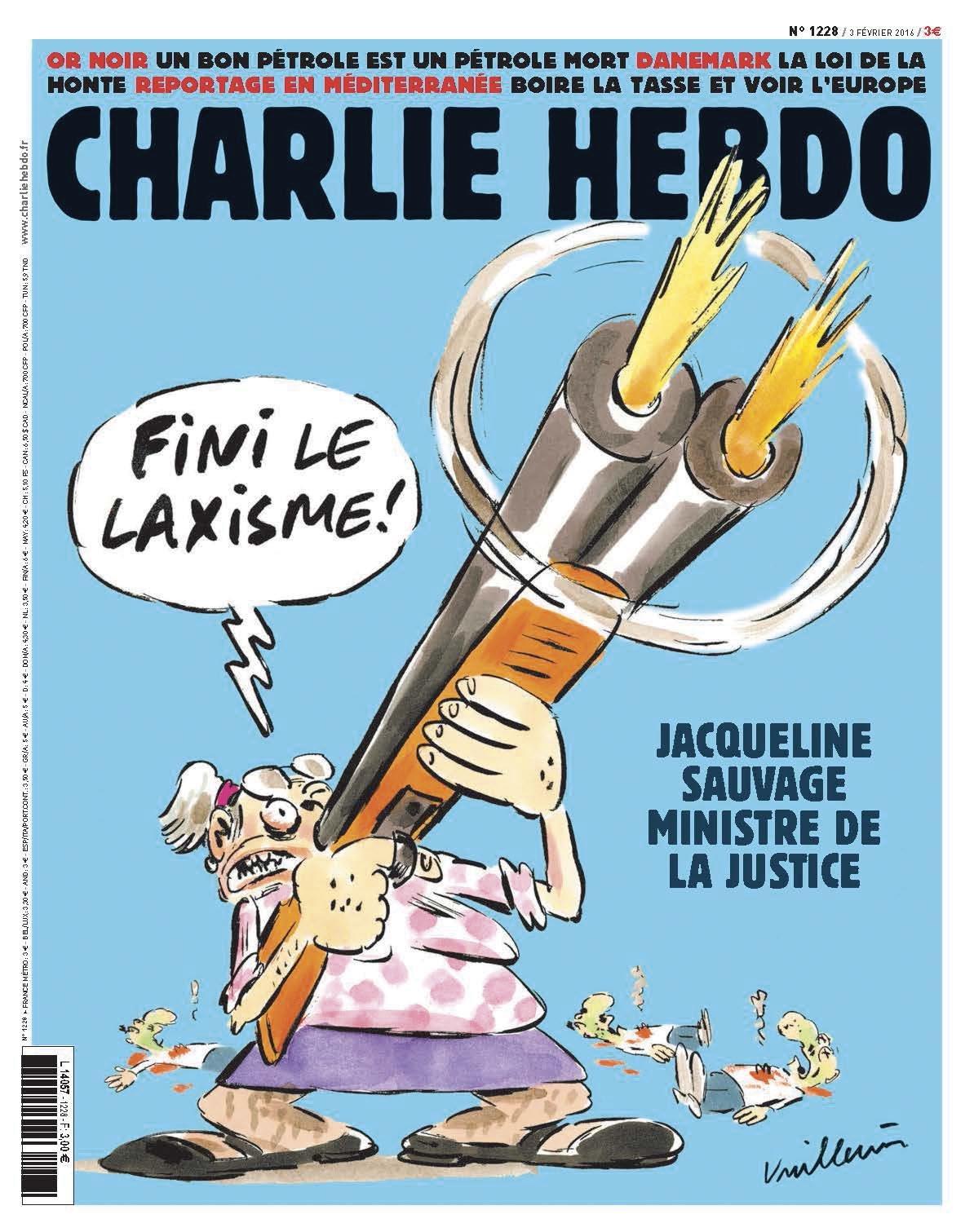 Charlie Hebdo n°1228 --- 3 fevrier 2016