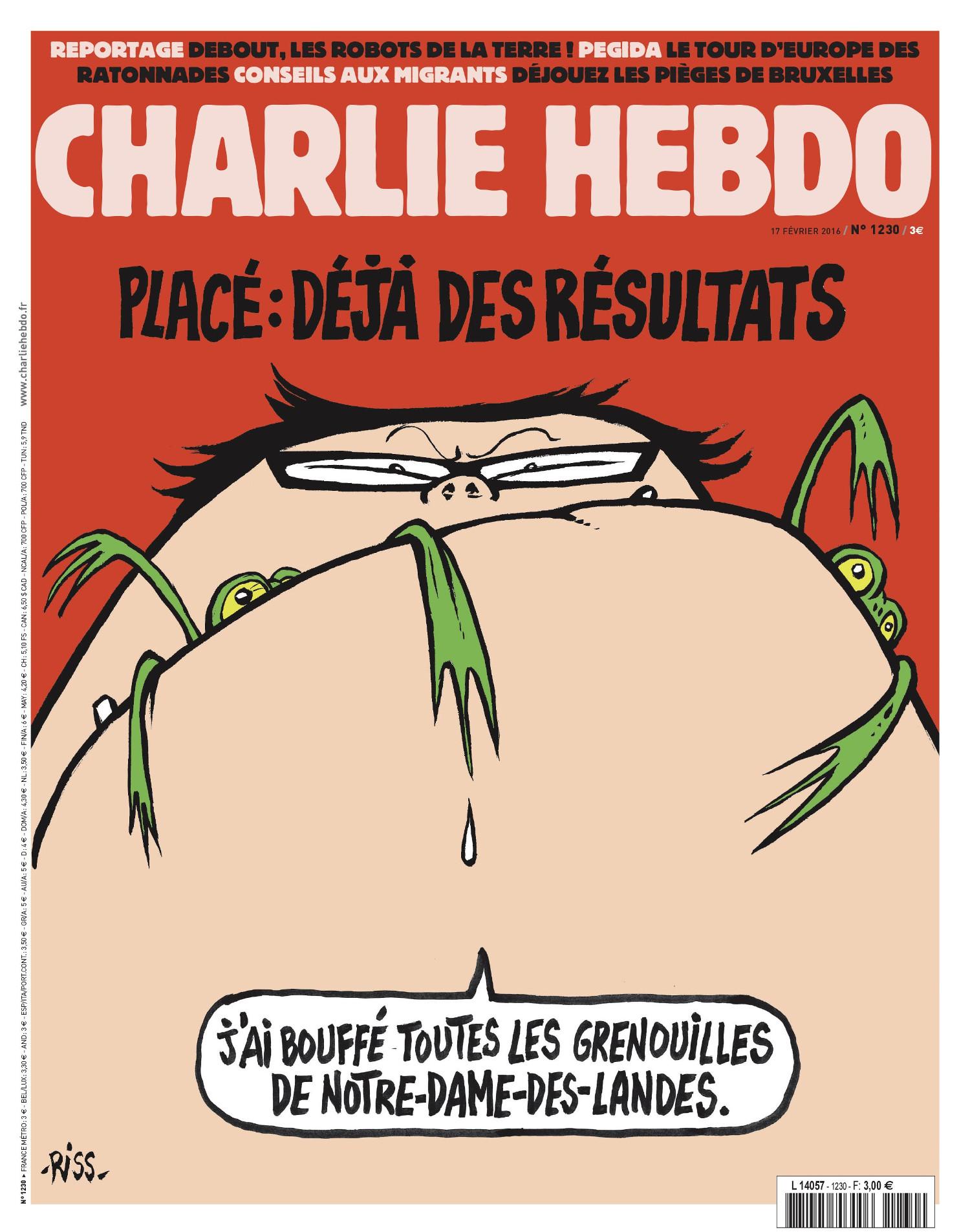 Charlie Hebdo n°1230 --- 17 fevrier 2016