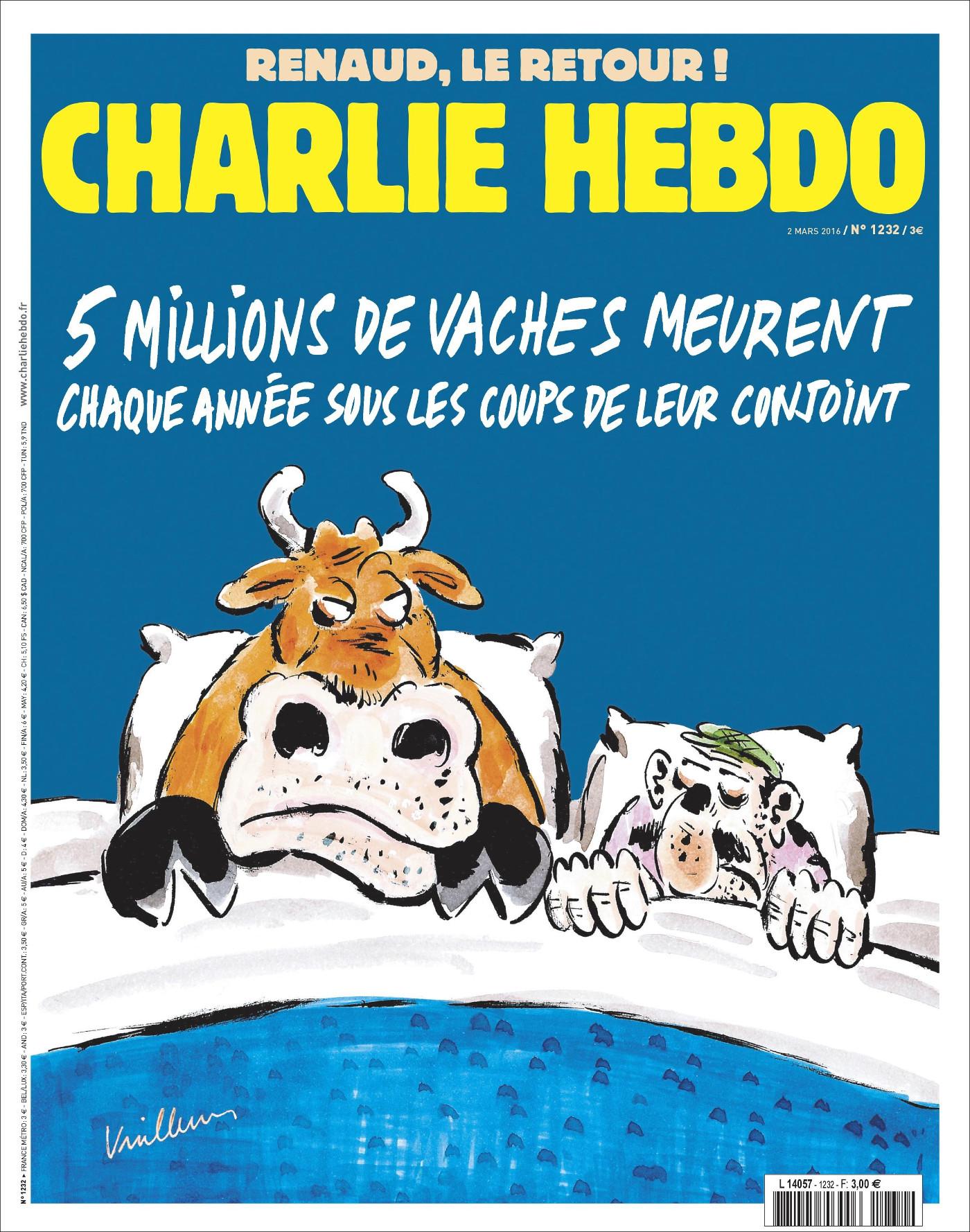 Charlie Hebdo n°1232 --- 2 mars 2016