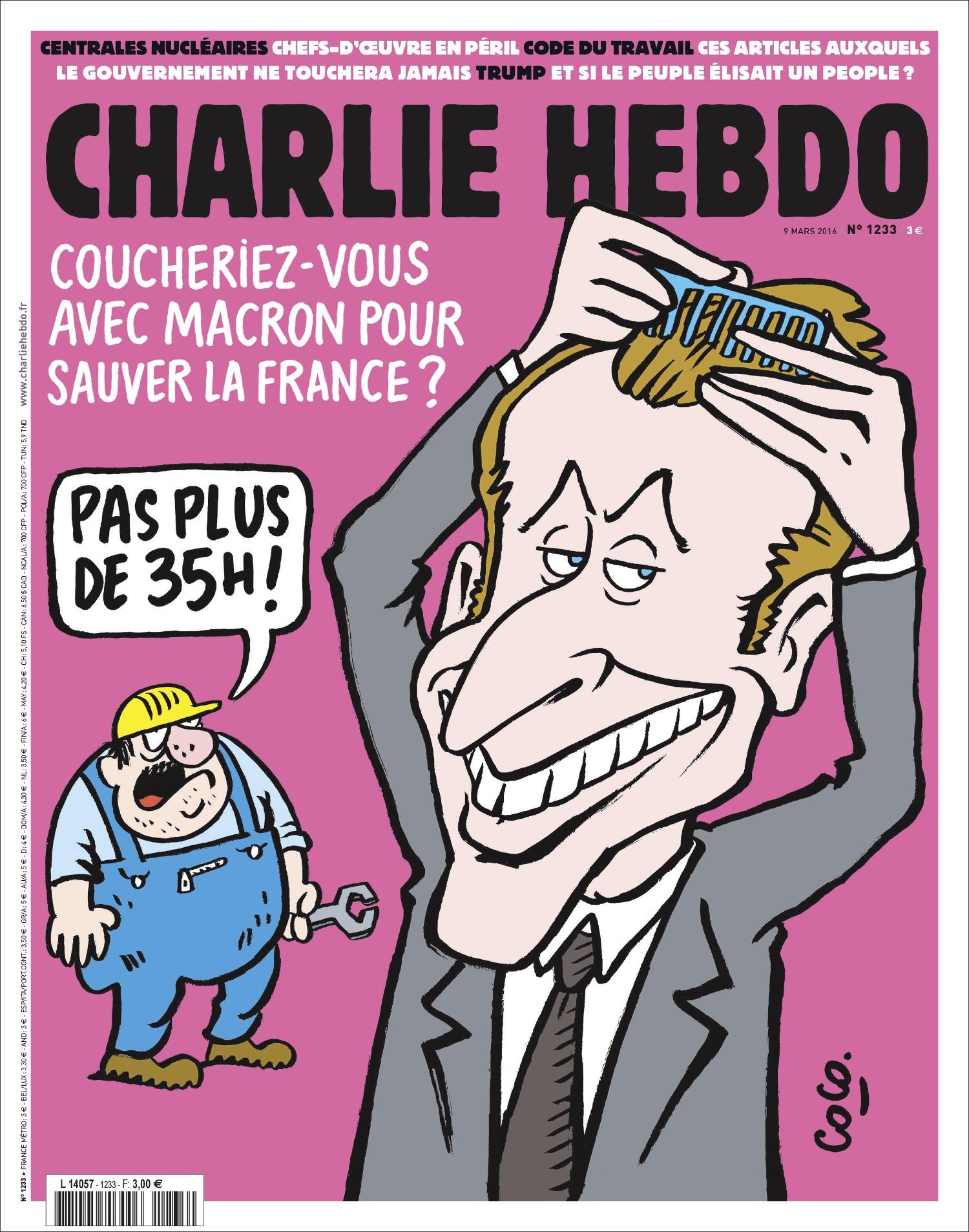 Charlie Hebdo n°1233 --- 9 mars 2016