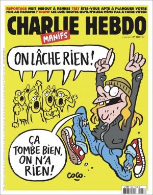 Charlie Hebdo n°1238 --- 13 avril 2016
