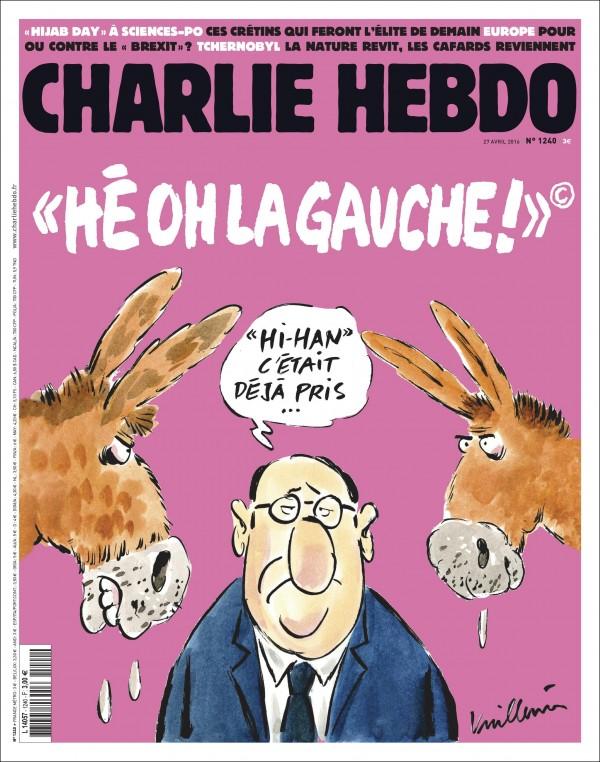Charlie Hebdo n°1240 --- 27 avril 2016
