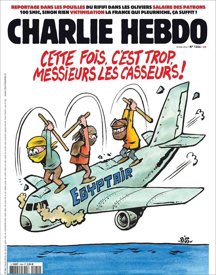 Charlie Hebdo n°1244 --- 24 mai 2016