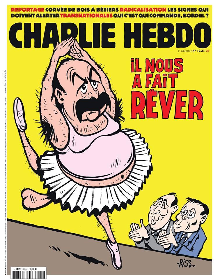 Charlie Hebdo n°1245 --- 31 mai 2016