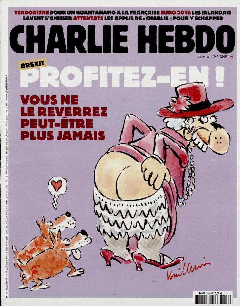 Charlie Hebdo n°1248 --- 22 juin 2016