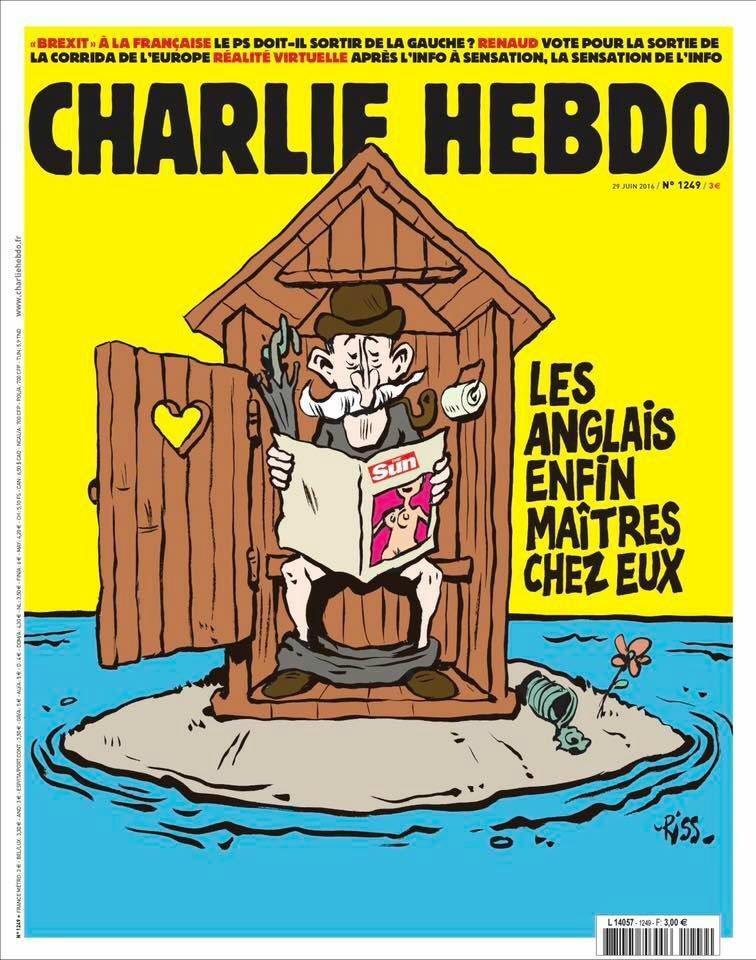 Charlie Hebdo n°1249 --- 28 juin 2016
